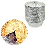 Our disposable foil pans are perfect for the home baker or professional chef. Personal pot pies, grill plates, apple pie. summer holiday baking, Thanksgiving and Christmas holiday pies. Our round aluminum foil pans are completely safe for use in the ...