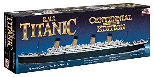 Minicraft Models Dempsey Designs Morceau modèles Echelle 1 : 350 cm RMS Titanic Centennial Edition modèle Kit