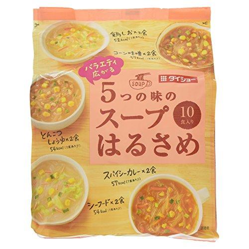 ダイショー バラエティ広がるスープはるさめ 10食入
