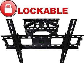 Impact Mounts Lockable Dual Arm Articulating Full Motion Swivel Lcd Led Plasma Tv Wall Mount Bracket 40 42 46 47 50 55 56 57 60 65 70 75 80 Locking Lock
