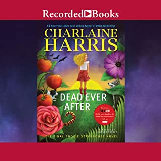 Dead Ever After     A Sookie Stackhouse Novel, Book 13              Written by:                                                                                                                                 Charlaine Harris                               Narrated by:                                                                                                                                 Johanna Parker                      Length: 10 hrs and 11 mins     3 ratings     Overall 4.7