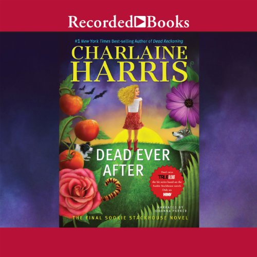 Dead Ever After audiobook cover art