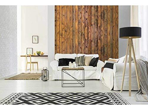 Vlies Fotobehang HOUTEN PLANK | Niet-Geweven Foto Mural | Wall Mural - Behang - Reusachtige Wandposter | Premium Kwaliteit - Gemaakt in de EU | 225 cm x 250 cm