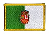 Flaggenfritze Flaggen Aufnäher Spanien Fuerteventura Fahne