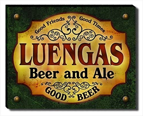 Luengas Beer and Ale Wrapped Canvas Print Gallery Limited time trial price Max 65% OFF