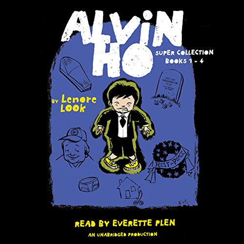 The Alvin Ho Super Collection: Books 1-4 audiobook cover art