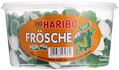 Haribo Frösche,3er Pack (3x 1050g Dose)