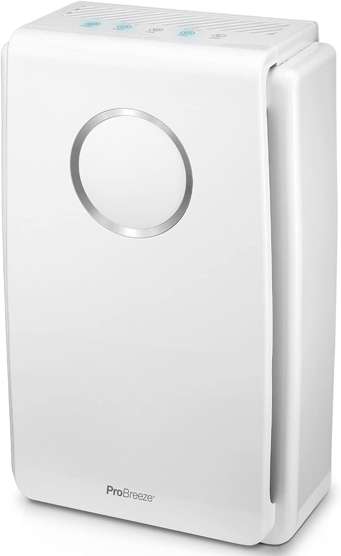 Pro Breeze Purificador de aire 5 en 1 con pre-filtro