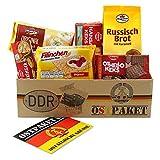 Ostpaket Knusperpaket mit 6 typischen Produkten der DDR Geschenkset Ostprodukte DDR - Geschenkidee Kekspaket