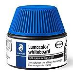Staedtler Lumocolor 488 51-3. Cargador para marcadores Lumocolor 351 y 351 B. Un frasco con tinta de color azul.