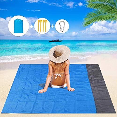Mumu Sugar Sand Free Beach Blanket 79 83 Extra Large Outdoor Picnic Blanket Waterproof Sand product image