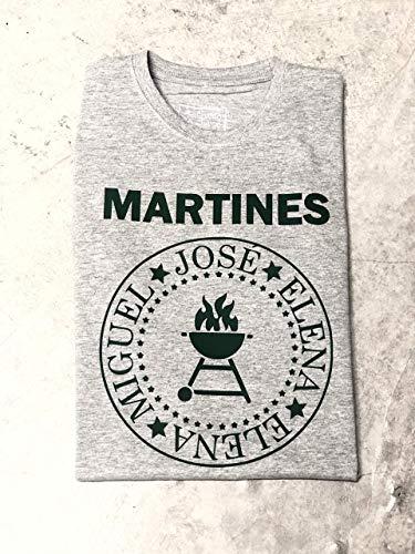 Camiseta Hombre personalizada estilo Ramones