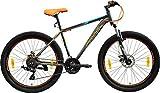 Frog Viper X-101 27.5 Inches 21 Speed Bike for Adults (Orange,Blue)