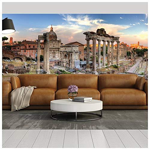 azutura Skyline panoramico di Roma Fotomurali Italia Carta da Parati Camera da Letto Vivente Arredamento Disponibile in 8 Misure Gigantesco Digitale