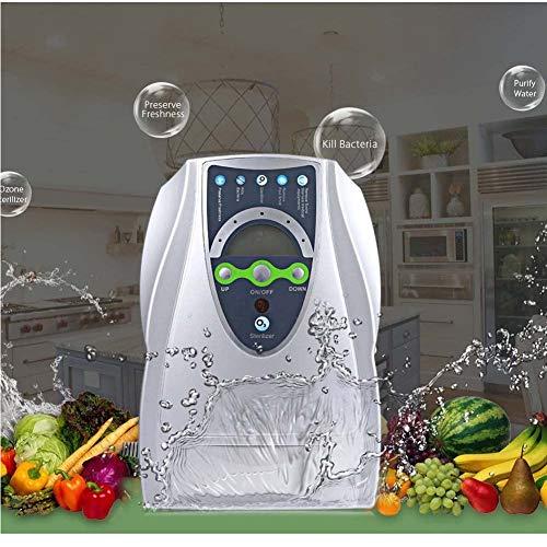 XGL Máquina Generadora De Ozono, 500Mg/H Aire Agua Ionizador Purificador Esterilizador, Purificador De Aire, para Agua, Verduras Y Frutas, 110V/220V