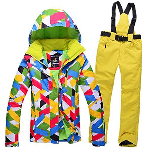 ski pak JSGJHXF2019 Nieuwste Ski Suits Dames Jas Broek, Snowboard Kleding, Snowboarden Skiën Jassen Sport Waterdicht Winddicht Ademend