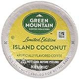 Green Mountain Coffee Roasters Island Coconut, Single-Serve Keurig K-Cup Pod, Flavored Light Roast Coffee, 24 Count