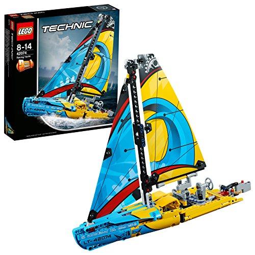 LEGO- Technic Yacht da Gara, Multicolore, 42074