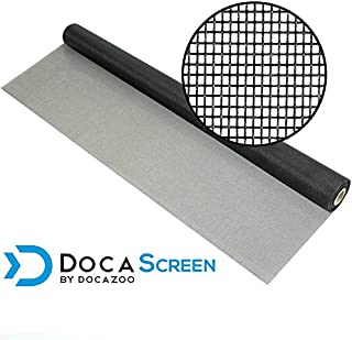 "DocaScreen Standard Window Screen Roll – 36"" x 100' Fiberglass Screen Roll – Window, Door and Patio Screen – Insect Screen // Fiberglass Screening // Screen Replacement // Window Screens"