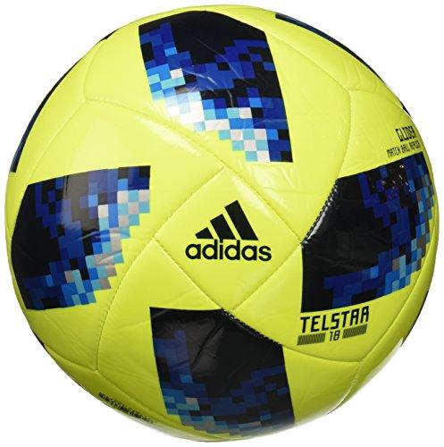 adidas World Cup Glide Balón, Hombre, Amasol/Azusol/REABRI, 4