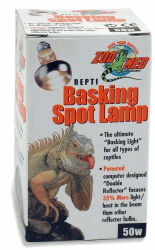 ZOOMED レプティ バスキングスポットランプ 50W 爬虫類 保温球