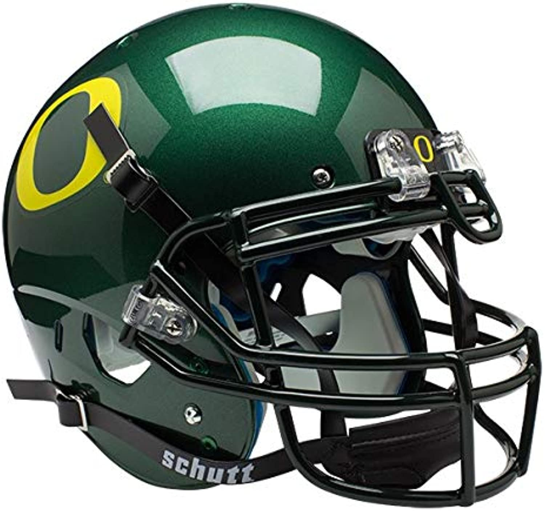 Schutt NCAA Oregon Ducks Collectibles OnField Authentic Football Helmet