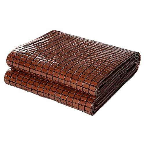 SXFYHXY Colchoneta Refrescante para Dormir De Verano, Doble Tendón De Carne, Plegable, Suave, Duradero, Carbonizado, Colchón De Bambú Mahjong