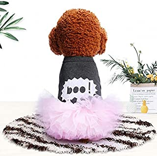 Deaman Ropa para mascotas Pet supplies mascotas gato disfraz princesa primavera y verano Puff Rock Teddy Bomei casual dulce como oso Nuevo cachorro ropa de perro