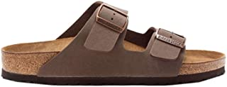 Birkenstock Mens Arizona Mocca Nubuck Sandals 44 EU