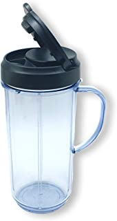 FranzKitchen Magic Bullet On The Go Mug with Flip Top Travel Lid