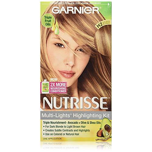 Garnier Nutrisse Haircolor - Multi-Lights H2 Golden Blonde 1 Each (Pack of 2)