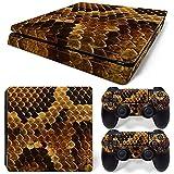 Pegatinas De Piel para Playstation 4 Controlador Delgado Calcomanías Adhesivas con Textura Animal para PS4 Pegatinas Delgadas Controladores Accesorio De Juego (No para PS4 Pro),5169