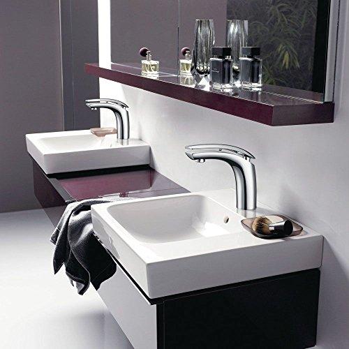 Homelody Wasserhahn Bad Einhebelmischer Mischbatterie Chrom Waschbecken Armatur Waschtischbatterie Waschtischarmatur Badarmatur - 5