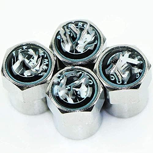 Coche Neumático Tapas Válvulas para Alfa Romeo, Antirrobo Antipolvo Resistente Agua Decoración Accesorio