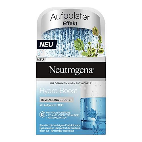 Neutrogena Hydro Boost Revitalising Booster Gesichtspflege, Aufbauende Feuchtigkeitscreme, Ölfrei, 50 ml
