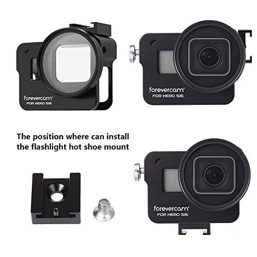PL Protective Aluminum Alloy Skeleton Housing Case for RX-0 Action Camera