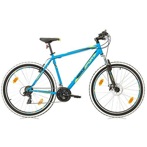 BIKE SPORT LIVE ACTIVE 27,5 Zoll Bikesport Thunder Herren Fahrrad MTB Mountainbike Hardtail Shimano 21 Gang (Blau matt, XL) - 2