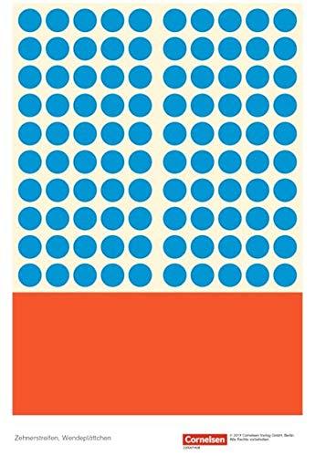 Einstern - Kartonbeilagen zu allen Ausgaben / Band 2 - Zehnerstreifen, Wendeplättchen: Kartonbeilagen. 10 Stuk im Beutel