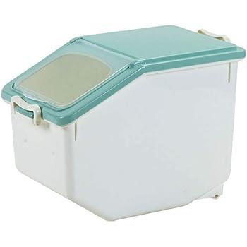ideal para almacenar arroz alimentos secos caja de almacenamiento de alimentos comida Contenedor de almacenamiento de arroz Volwco harina a prueba de humedad contenedor de arroz de 22lbs