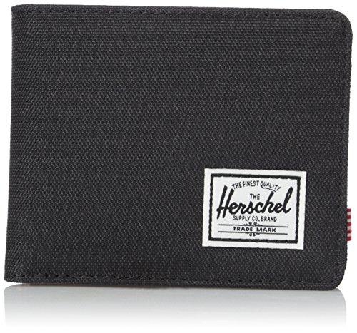 Herschel Roy Stoff-Geldbeutel, Schwarz