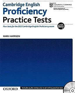 Cambridge English Proficiency Practice Tests with Key: Four Tests for Cambridge English: Proficiency (Cambridge English: P...