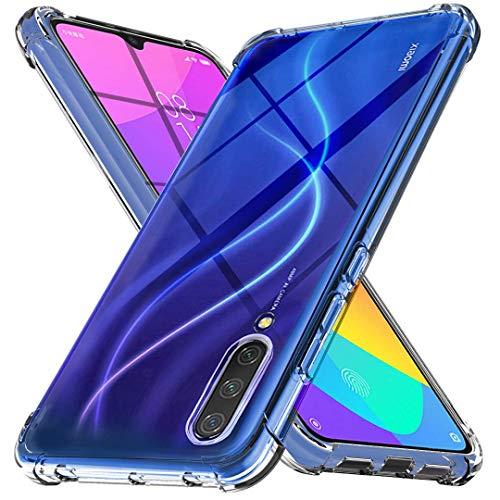 """Capa Protetora Para Xiaomi Mi 9 Lite 6.39"""" Polegadas Capinha Case Transparente Air Anti Impacto Proteção De Silicone Flexível"""