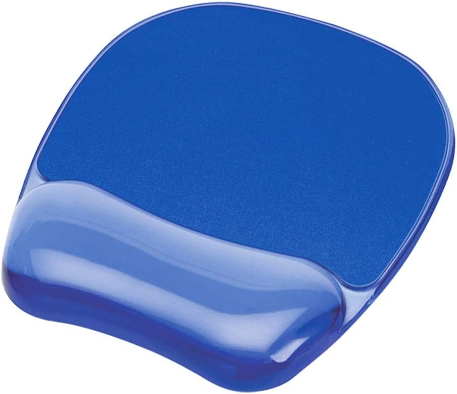 Color : Blue LSio Mouse pad Ergonomic Wristband Anti-Mouse Hand Silicone Wrist Support Wrist pad Non-Slip Rubber Base Desktop Computer Laptop