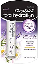 Chapstick Total Hydration Essential Oils Lip Balm - Relax - 0.12oz (Pack of 4)