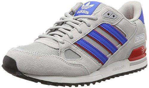 adidas ZX 750, Zapatillas de Deporte Hombre, Gris (Gridos/Azul/Rojbas), 39 1/3 EU