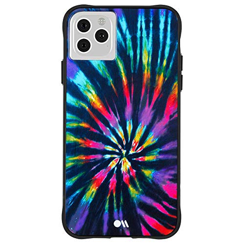 Case-Mate - TIE DYE - Case for iPhone 11 Pro Max - Opaque Color Design - 6.5 inch - DIY Rainbow