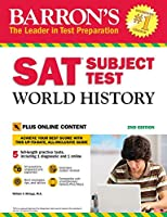 SAT Subject Test World History with Online Tests (Barron's SAT)