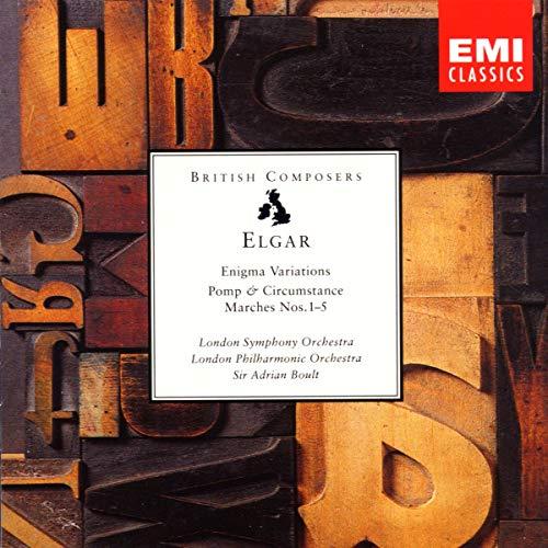 Sir Adrian Boult/London Sympho - Elgar. Enigma Variations - Pom