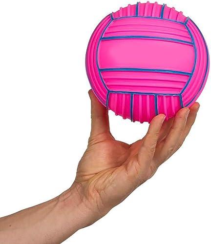 ACOMG Water Ball Fun Sports, Jouets pour Piscine, Adolescents, Hommes et Femmes, Volley-Ball en Eau, Ballon de Plage, Options de Tailles différentes,15cmrose
