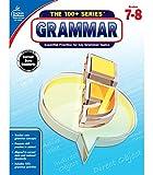 Carson Dellosa   The 100 Series: Grammar Workbook Grades 7-8, Language Arts, 128pgs